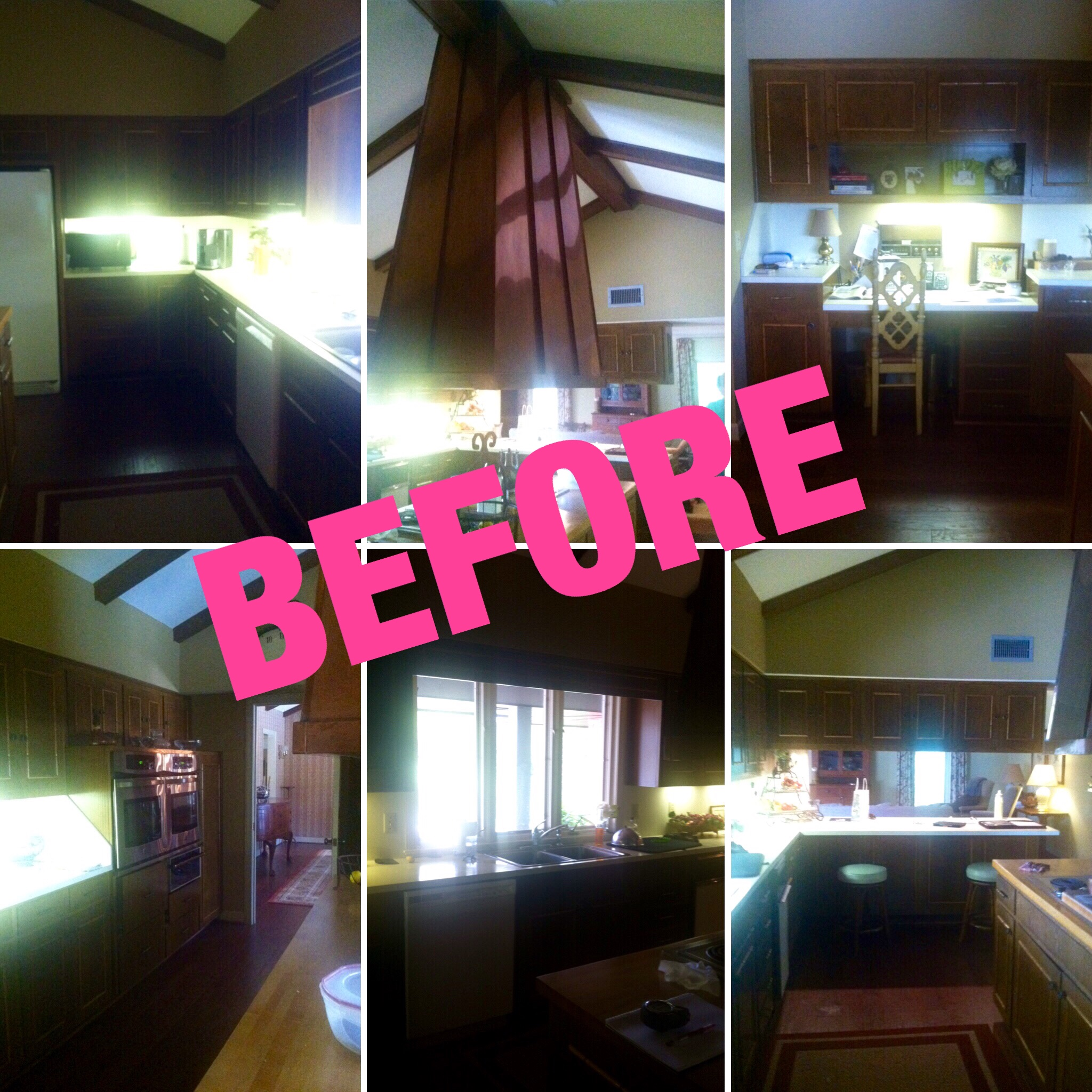 Remodel Kitchen before