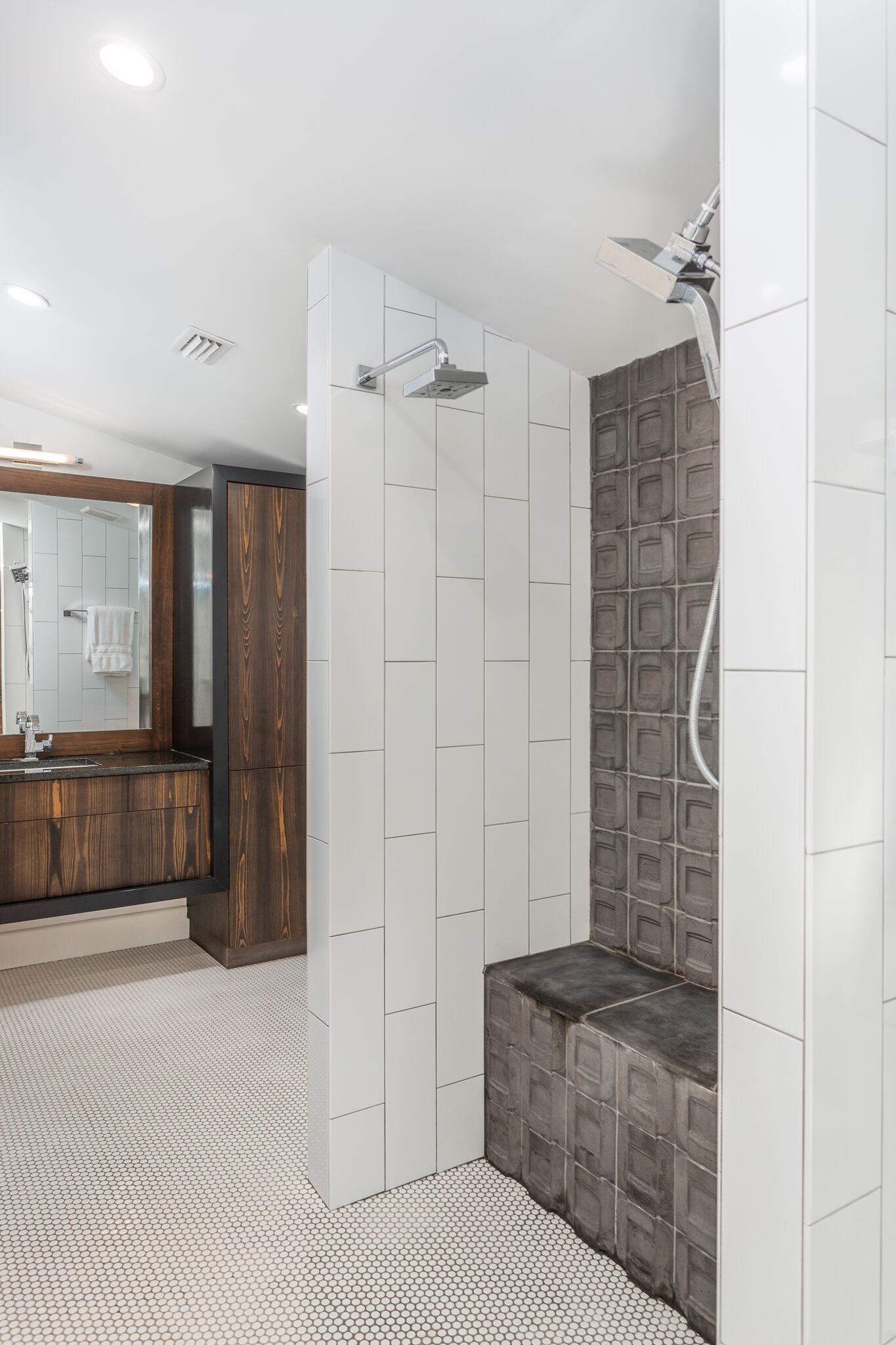 Concrete Tile in Shower