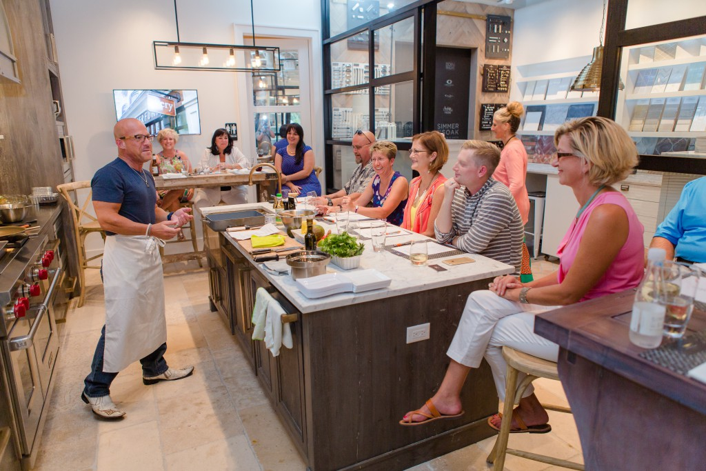 Simmer + Soak Cooking Class With Johnny Carino